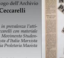 """Nasce l'archivio """"Ferruccio Ceccarelli"""""""